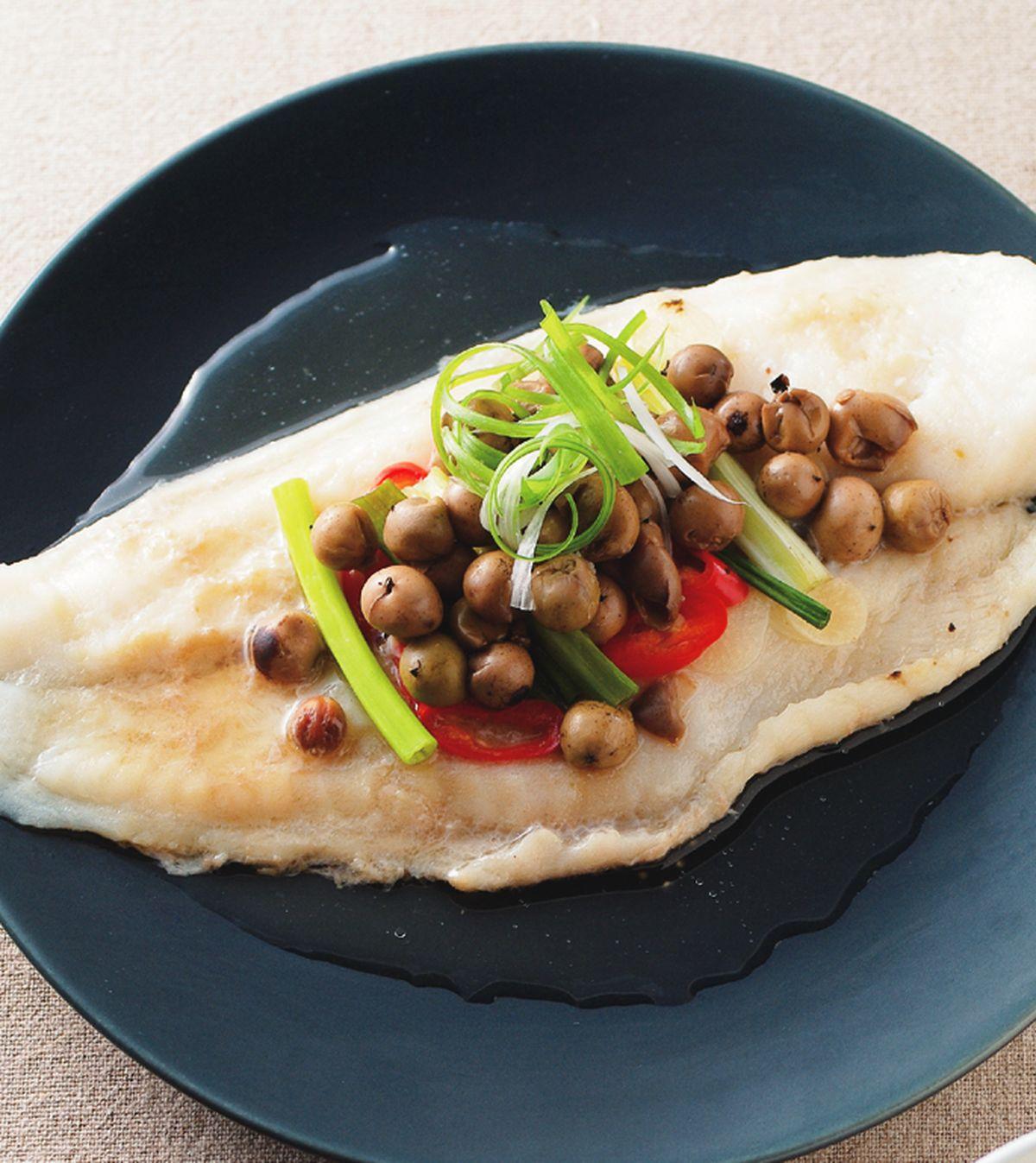 食譜:破布子蒸鱈魚