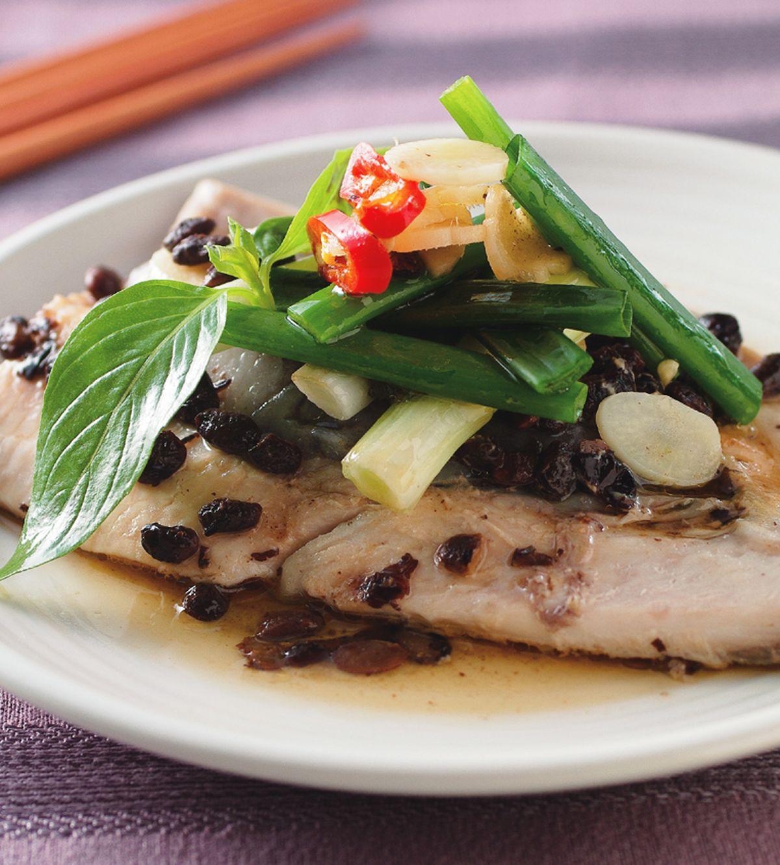 食譜:豆豉蒸魚