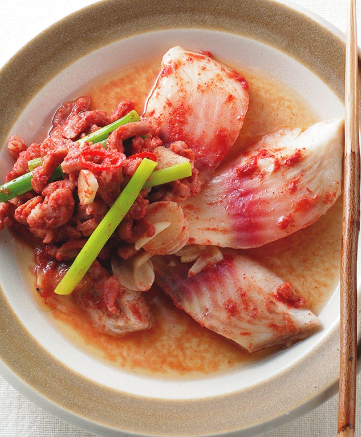 食譜:紅麴蒸魚(1)