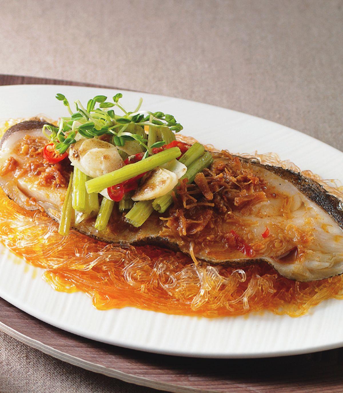 食譜:xo醬蒸鱈魚