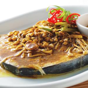 咖哩蒸土魠魚