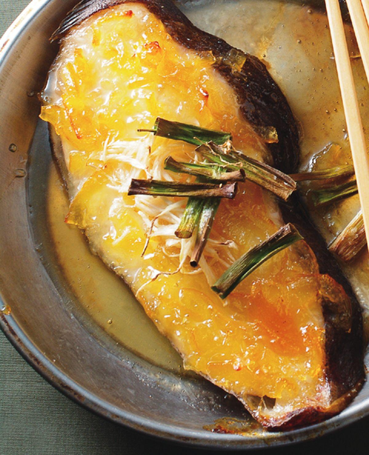 食譜:柚香烤鱈魚