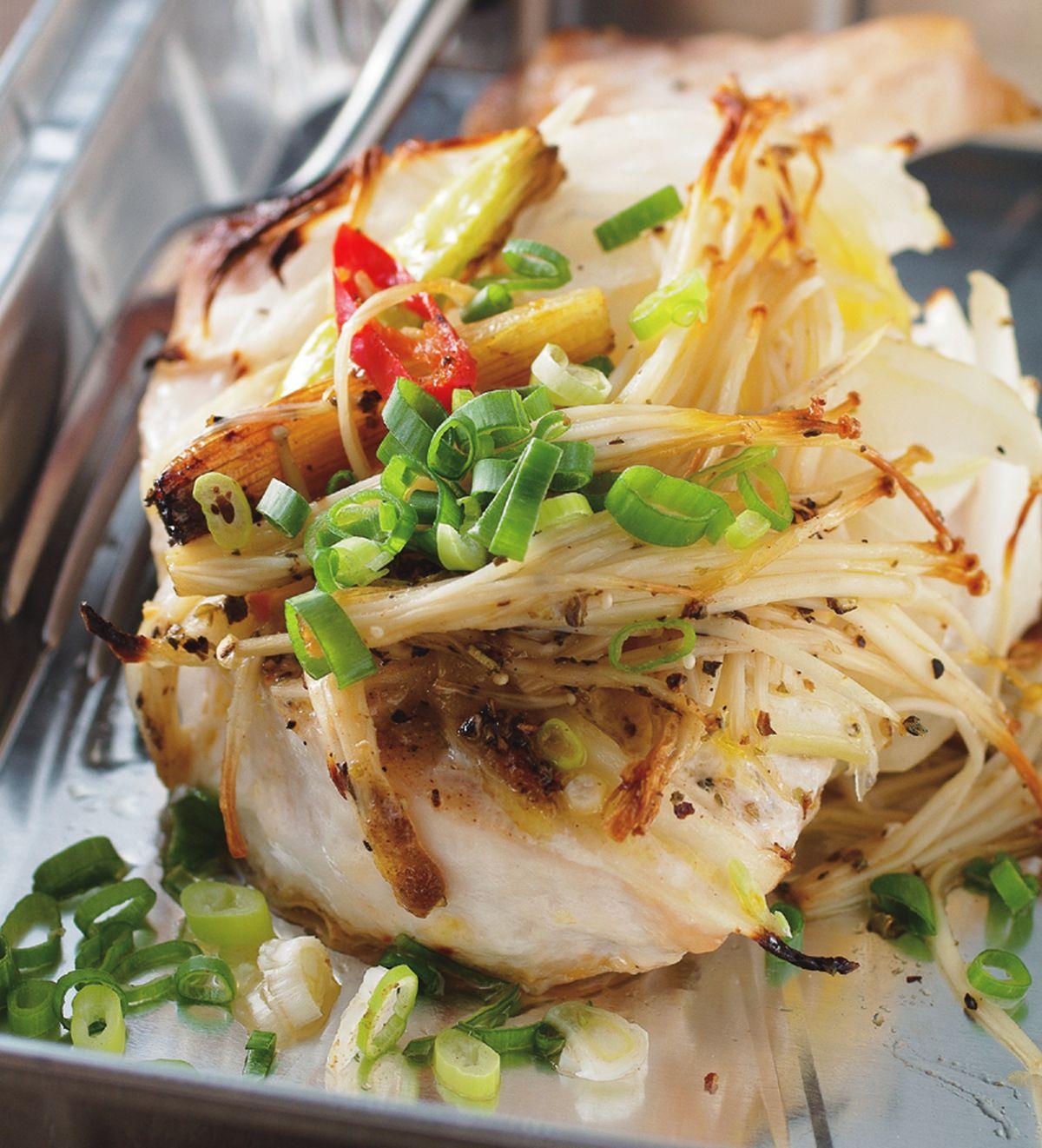 食譜:奶油烤魚