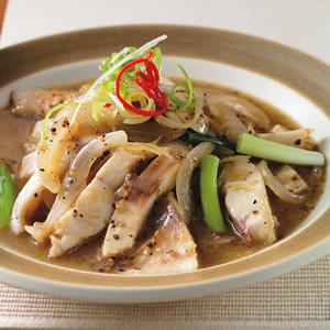 黑胡椒洋蔥魚條
