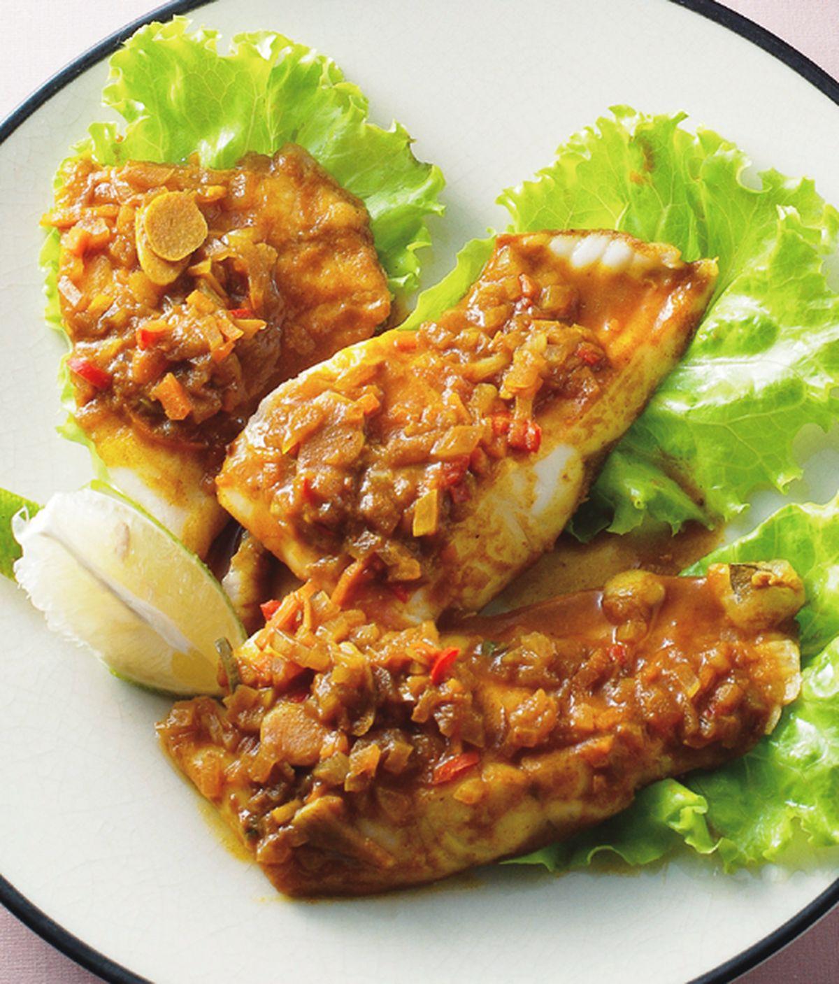食譜:咖哩魚片