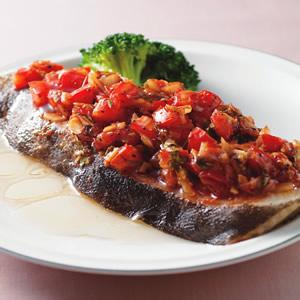 茄汁蒸鱈魚