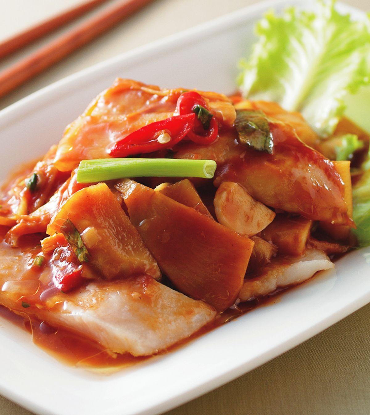 食譜:醋溜魚片(2)