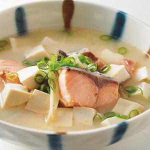 鮭魚味噌湯(3)