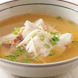 薑絲魚片湯
