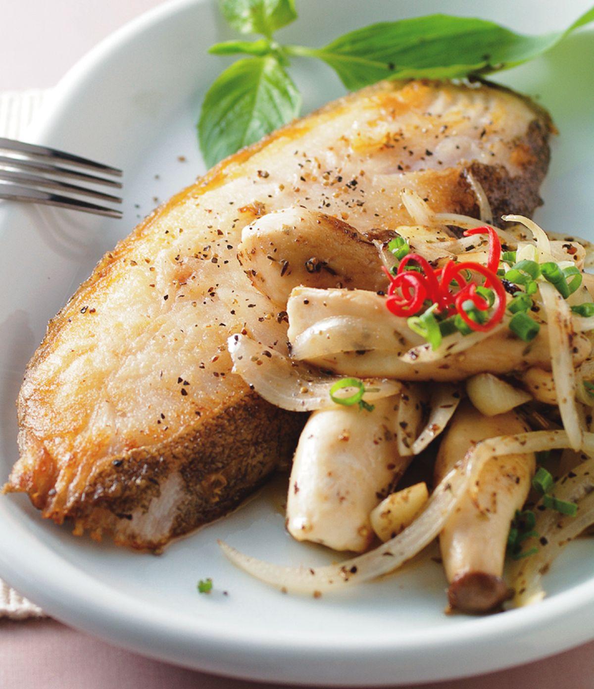 食譜:普羅旺斯煎鱈魚