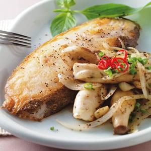 普羅旺斯煎鱈魚