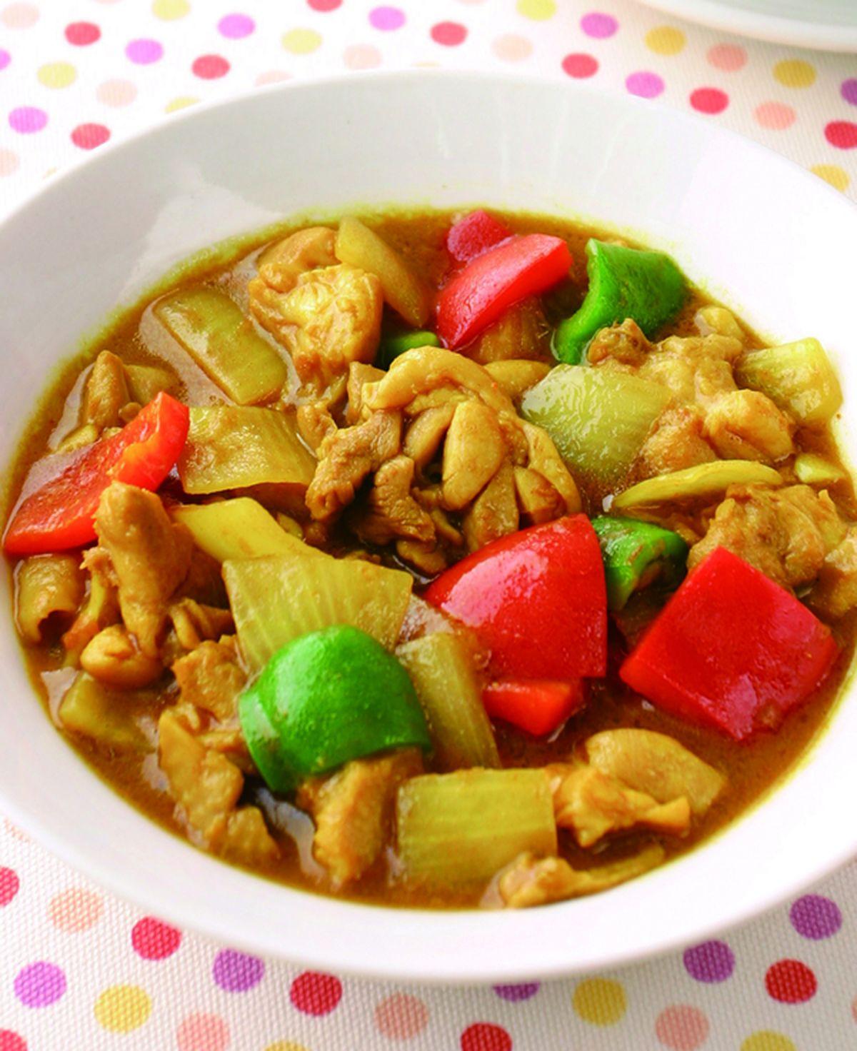 食譜:咖哩雞丁