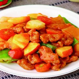 蕃茄糖醋肉片