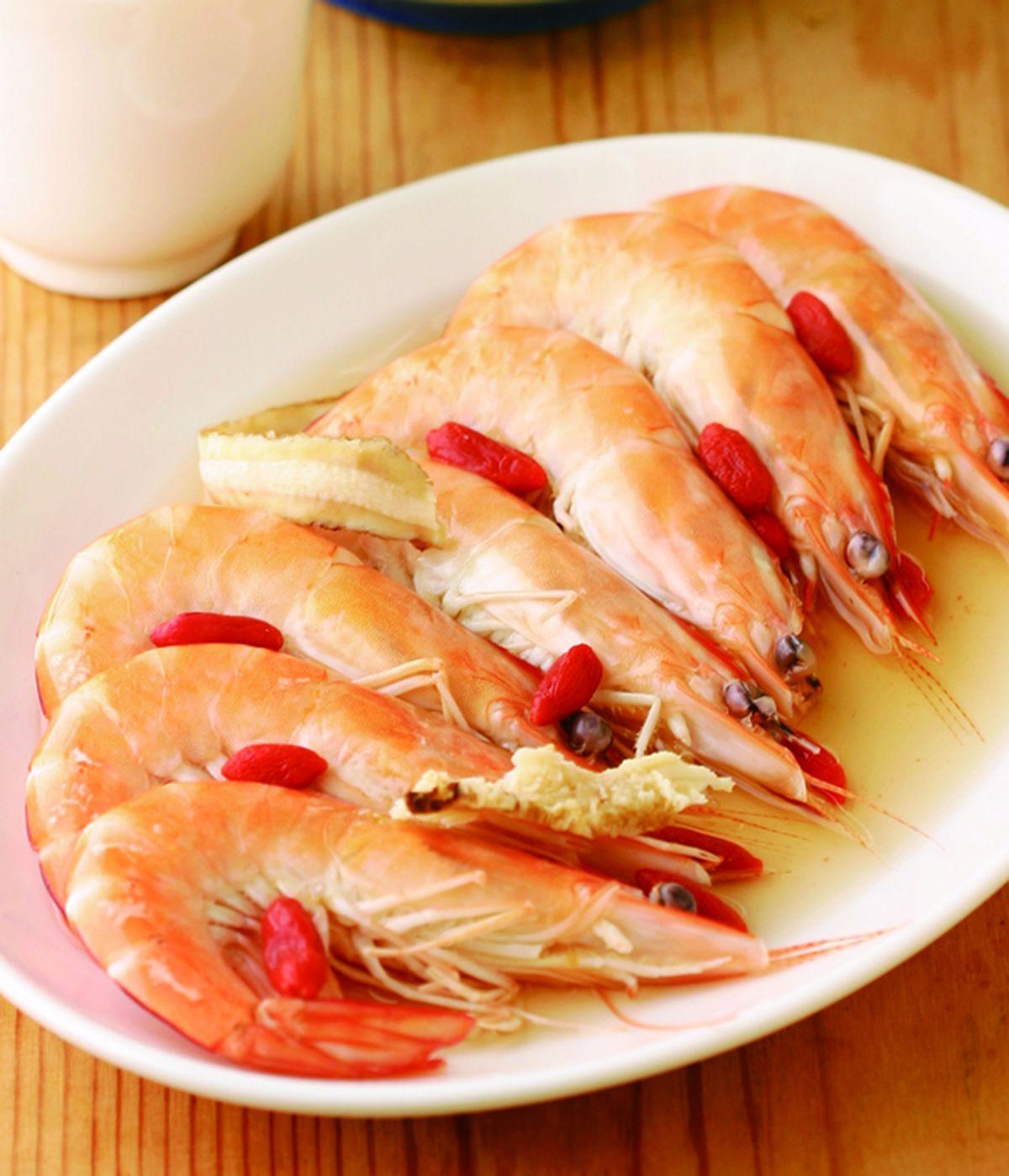 食譜:紹興蒸蝦
