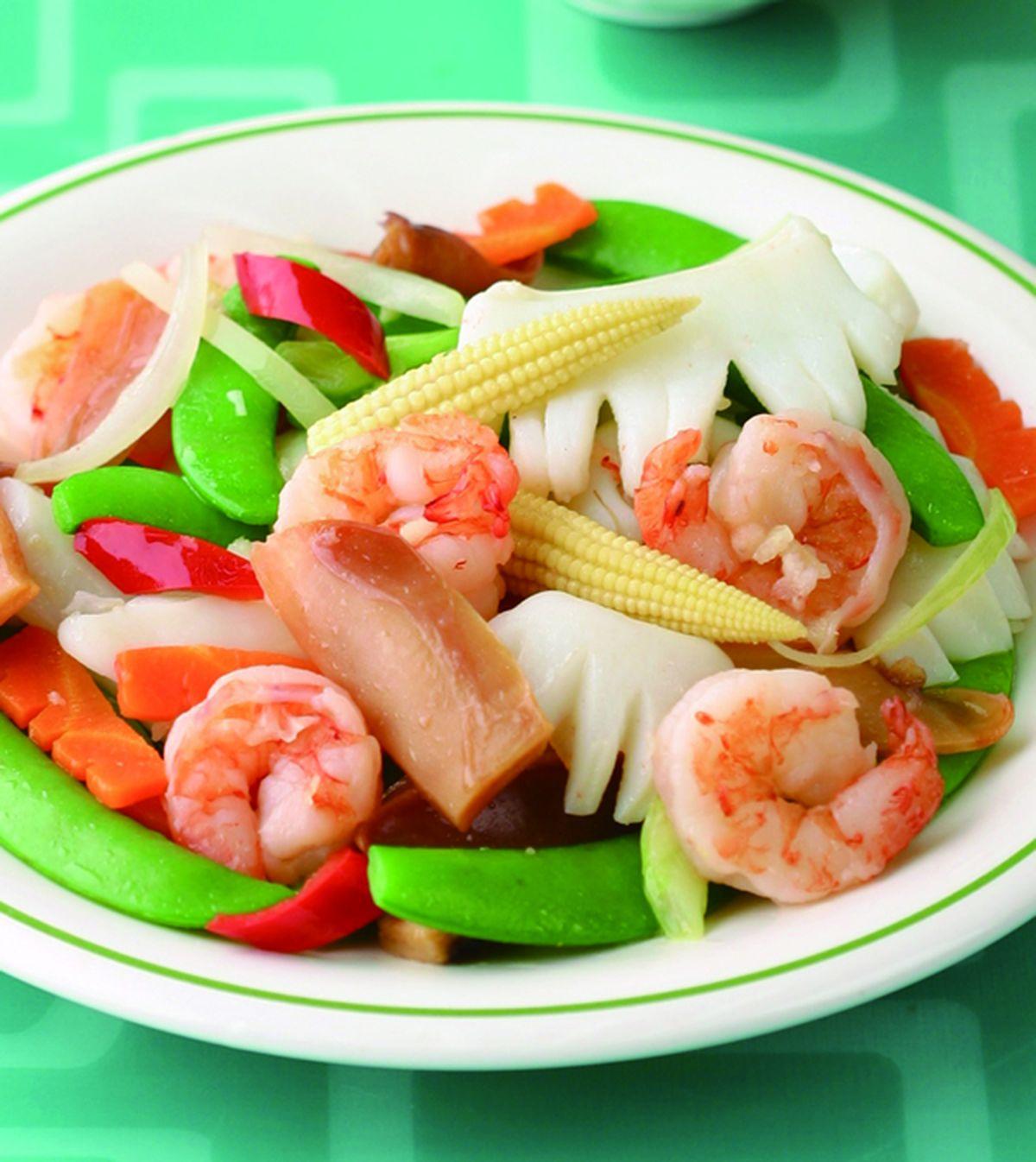 食譜:甜豆炒三鮮