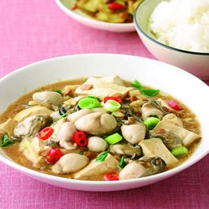 豆腐鮮蚵(1)