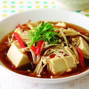 野菜燴豆腐