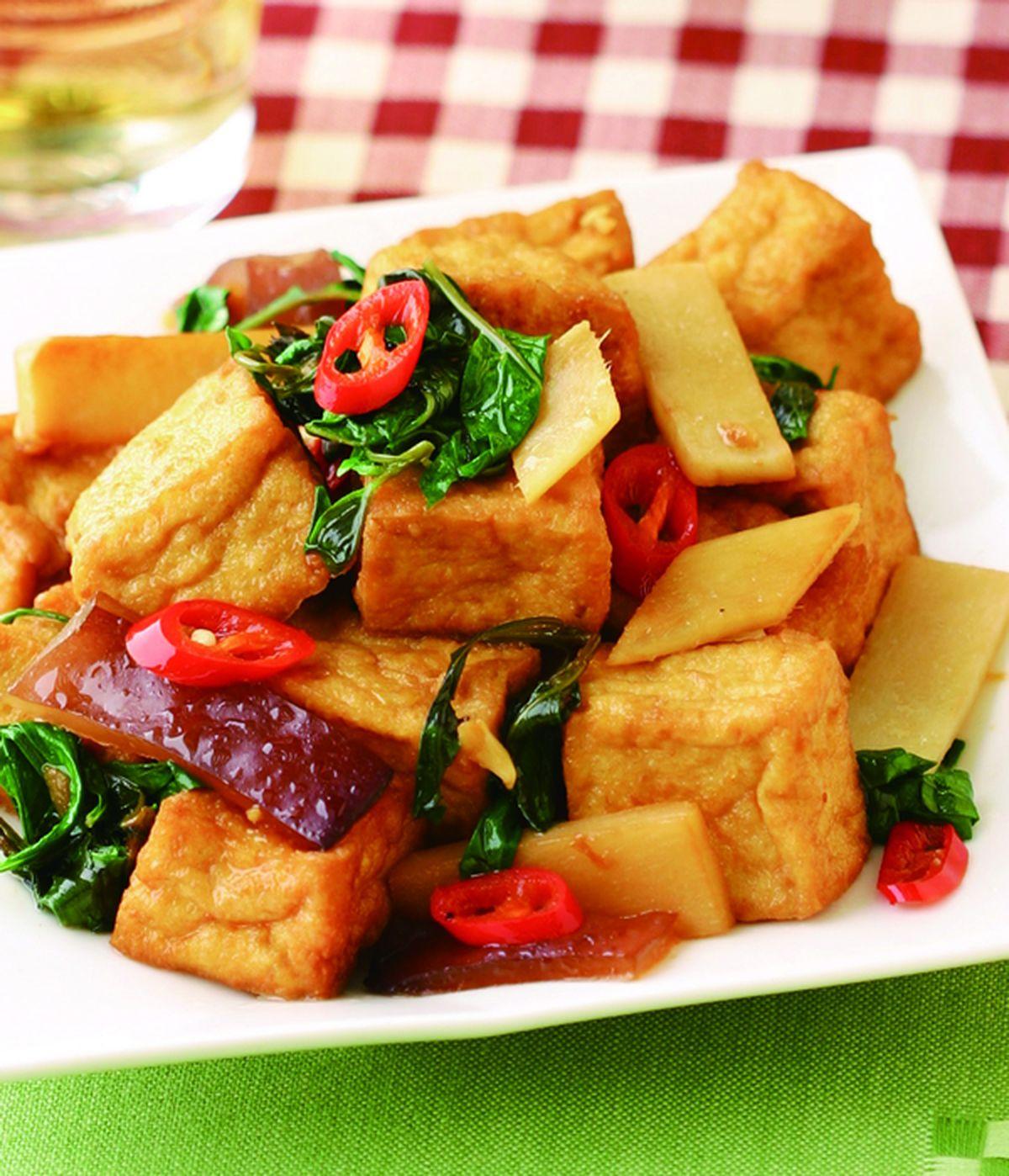 食譜:三杯臭豆腐(3)