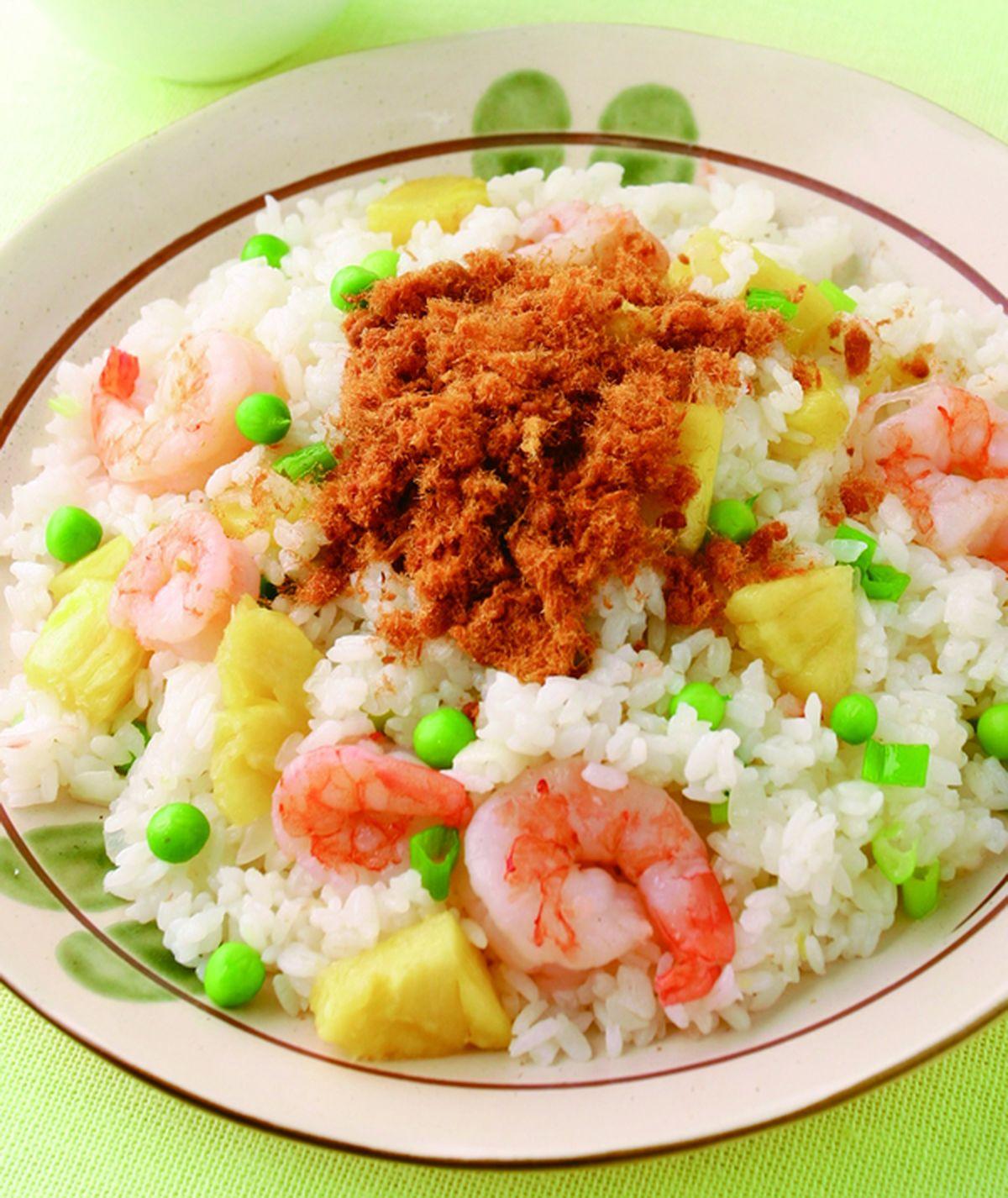 食譜:鳳梨蝦仁炒飯(1)