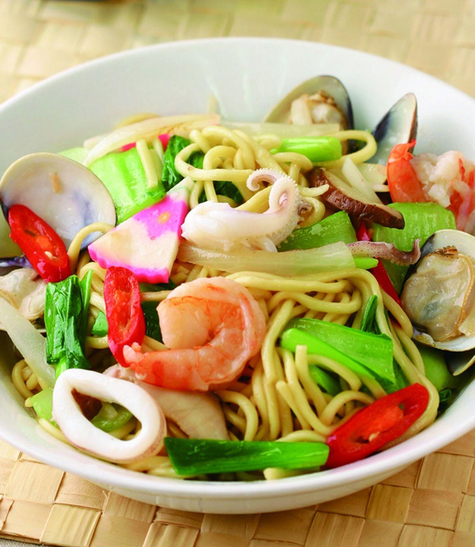 食譜:海鮮炒麵(7)