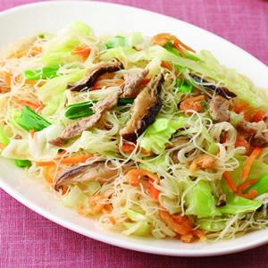 肉絲炒米粉(1)