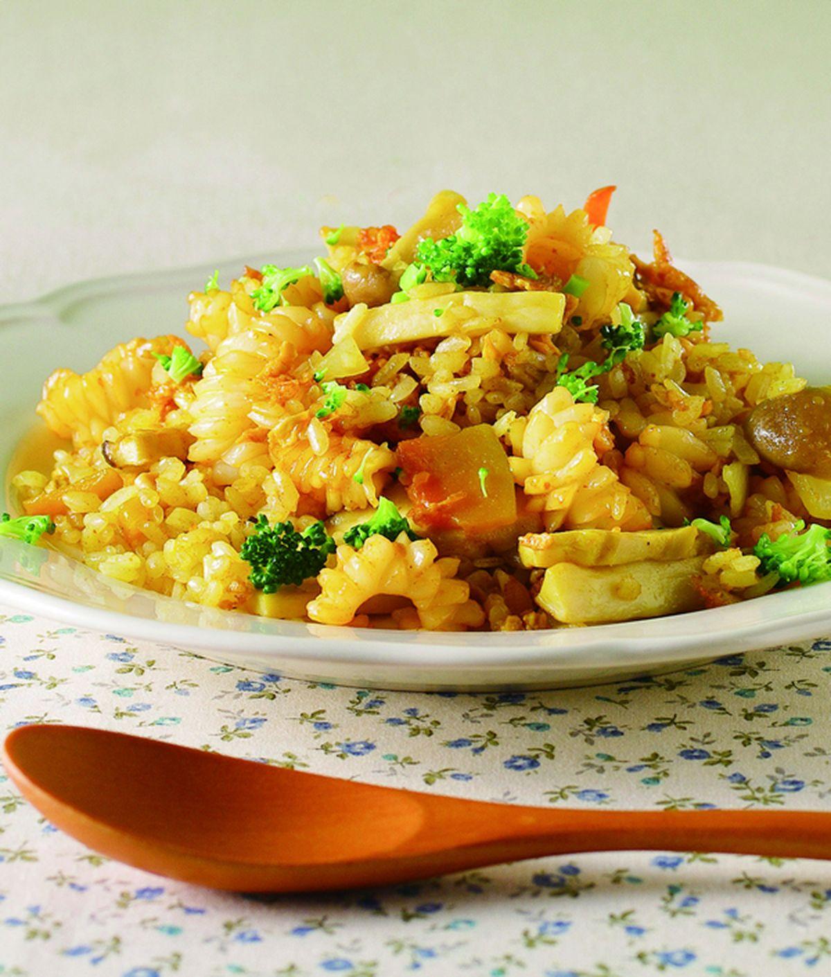 食譜:咖哩炒飯(3)