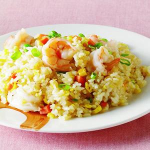 蝦仁炒飯(1)