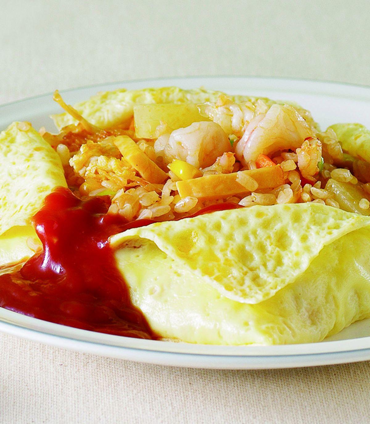 食譜:蛋包炒飯