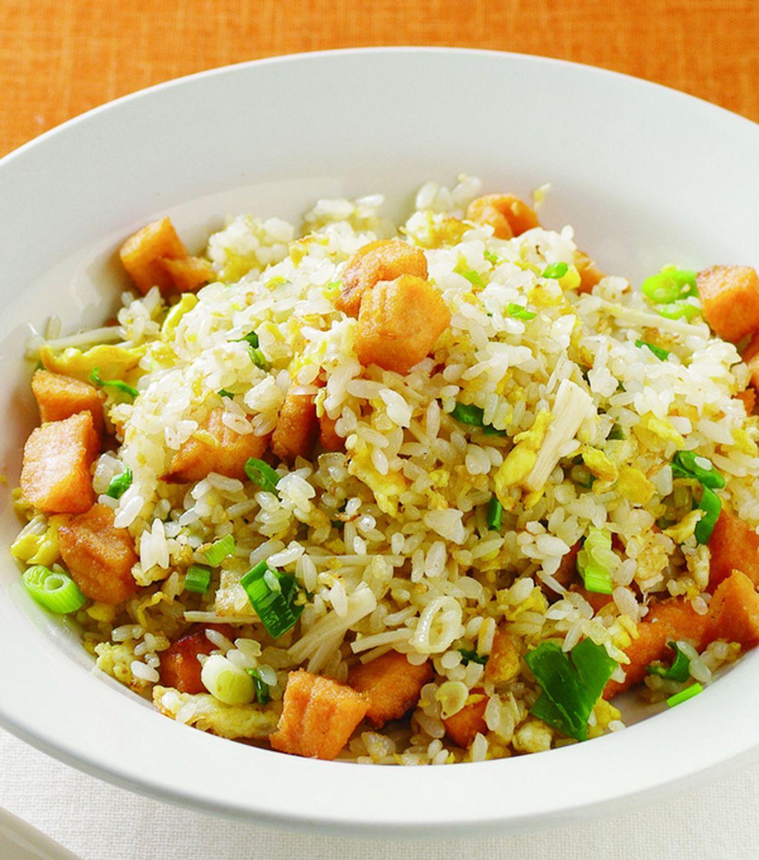 食譜:鮭魚炒飯(5)
