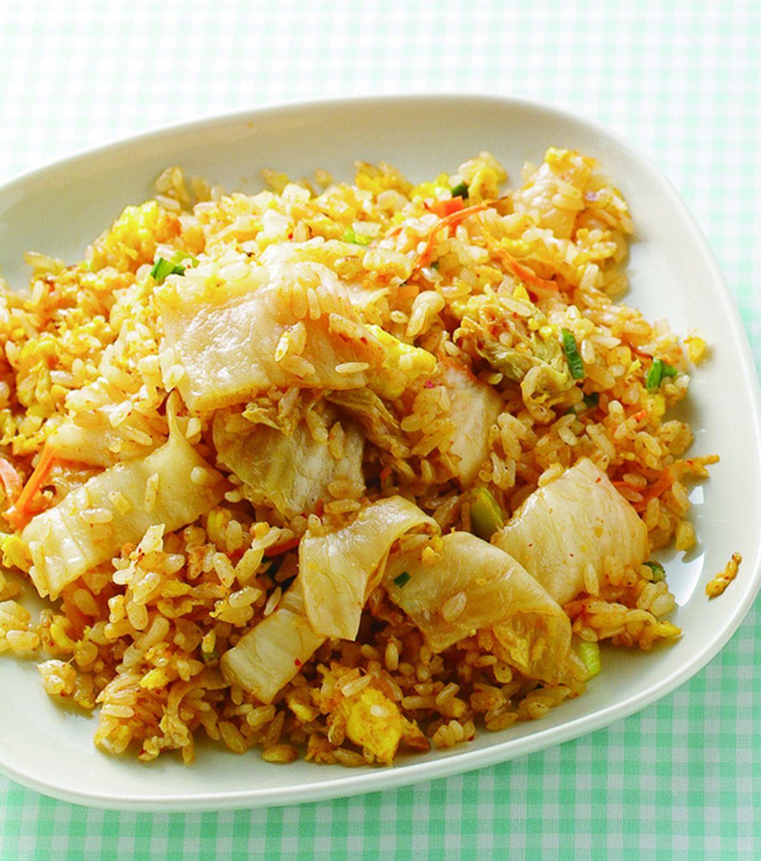 食譜:泡菜炒飯(4)
