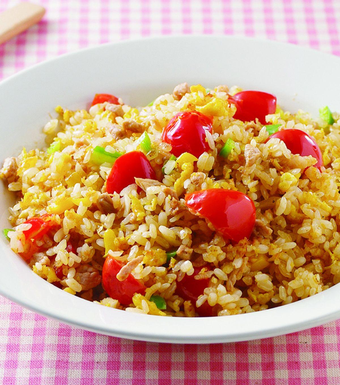 食譜:蕃茄絞肉炒飯