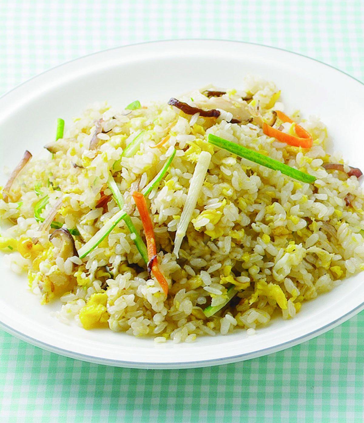 食譜:鮮蔬炒飯