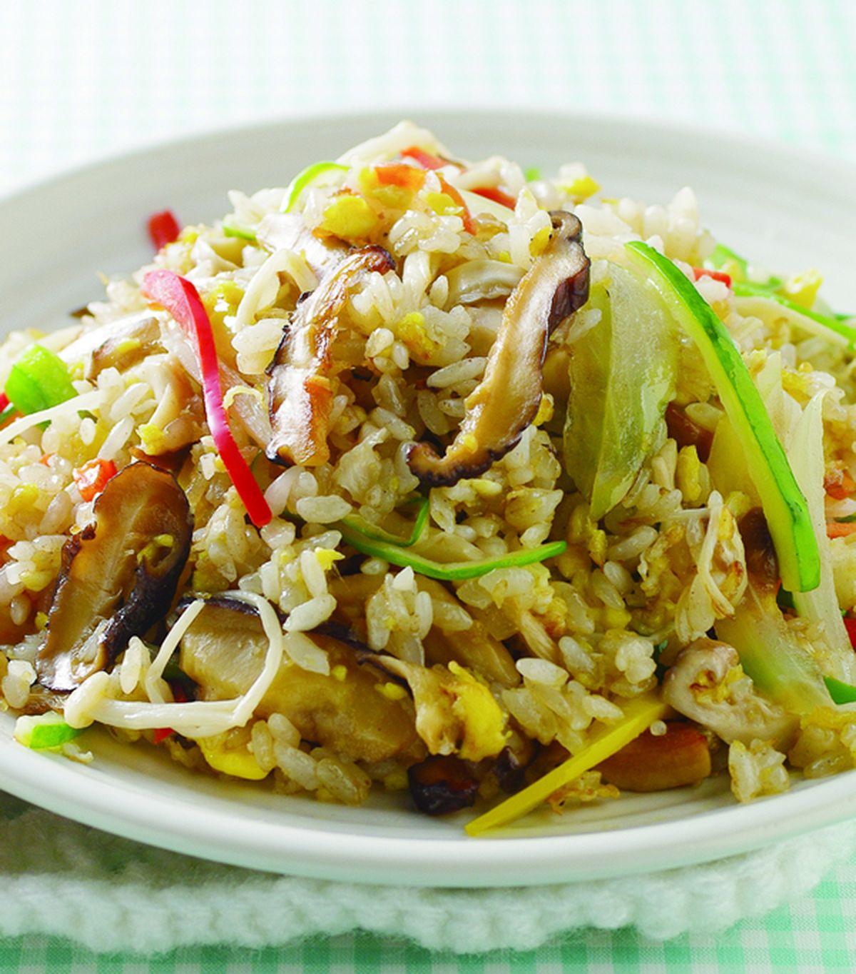 食譜:什錦菇炒飯(1)