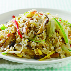 什錦菇炒飯(1)