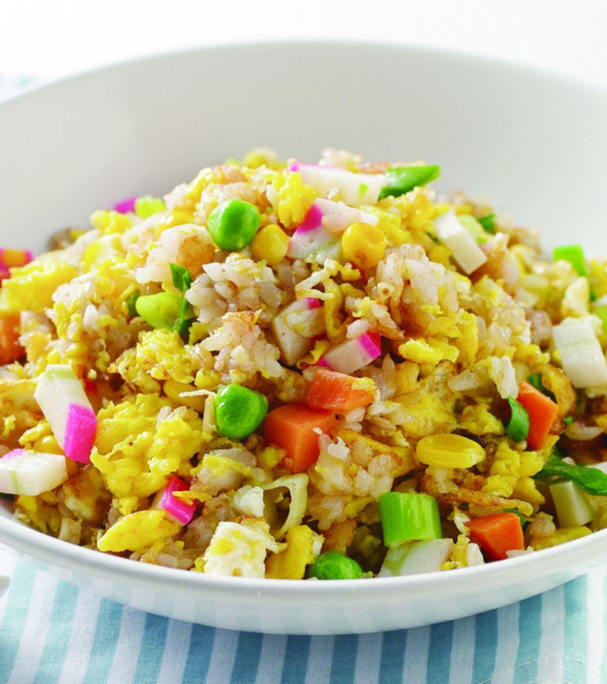 食譜:五榖米炒飯