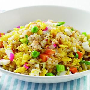 五榖米炒飯