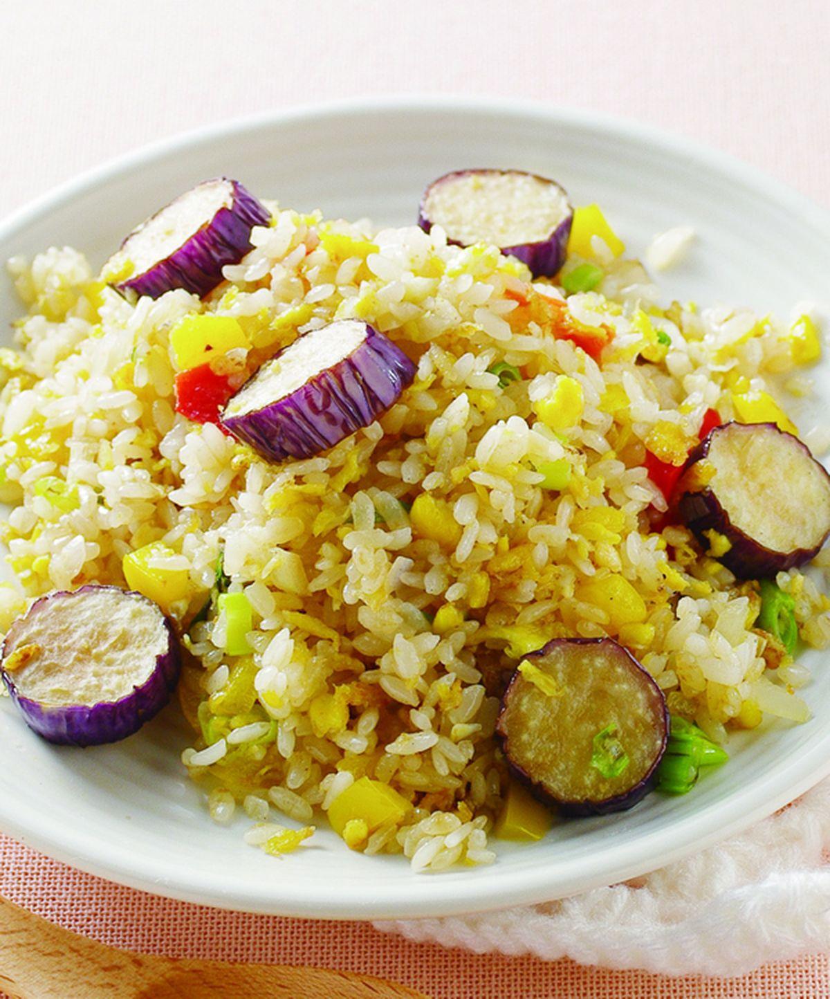 食譜:紫茄炒飯