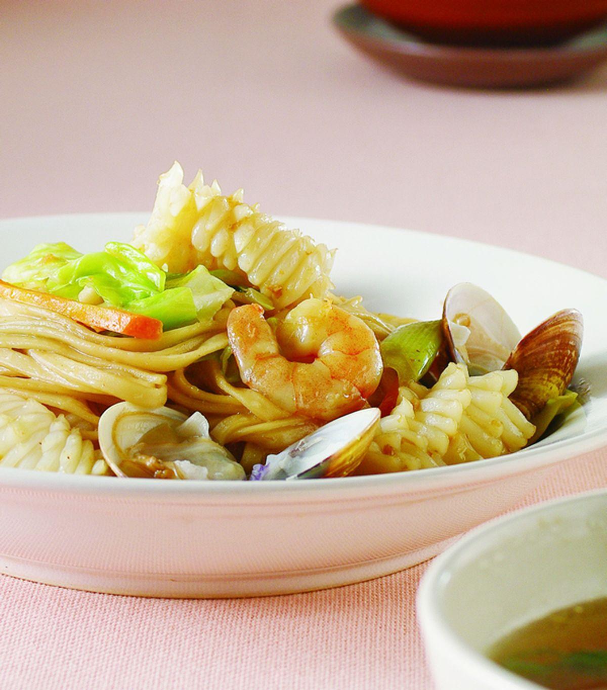 食譜:海鮮炒麵(6)