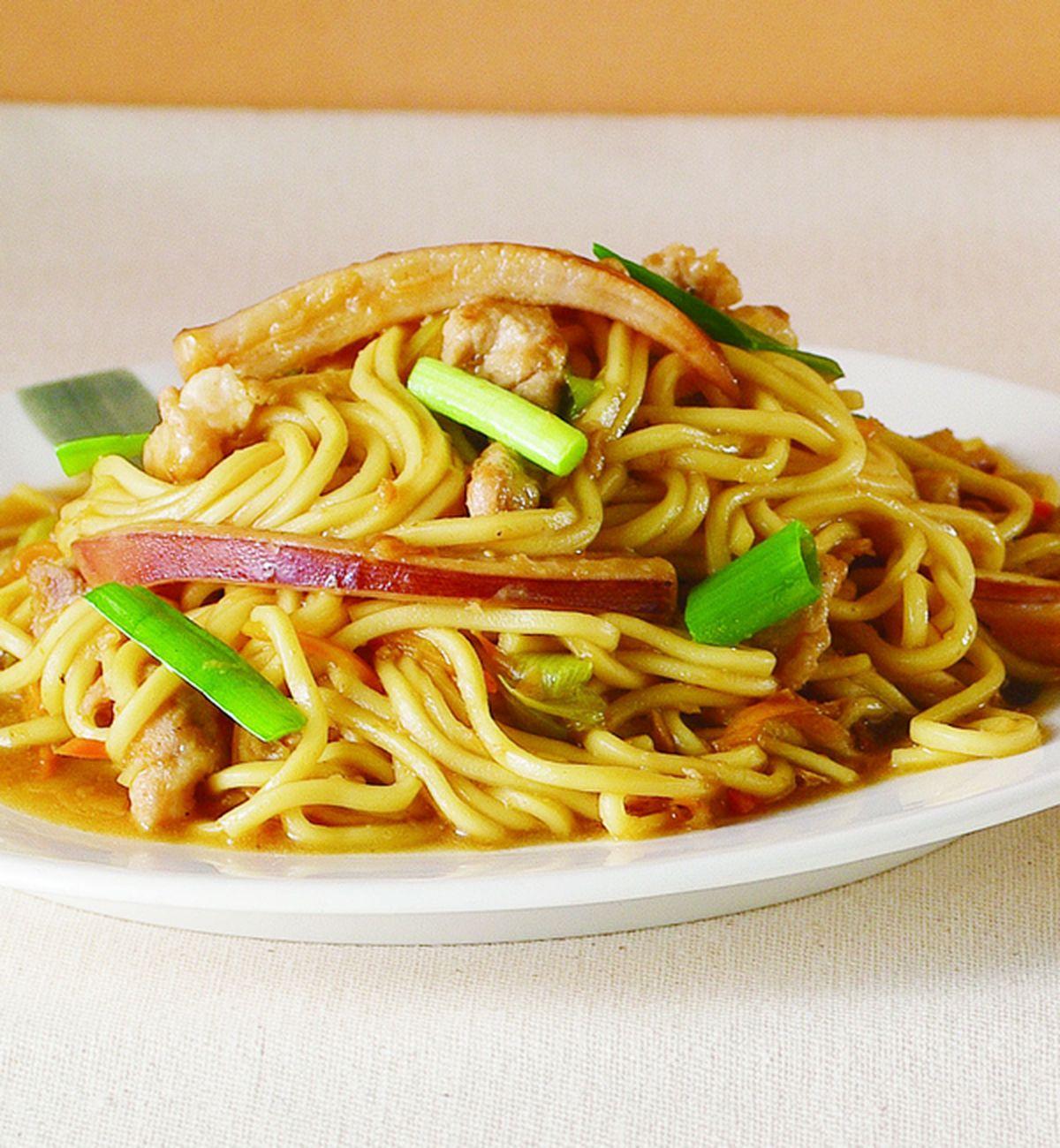 食譜:客家炒麵(1)