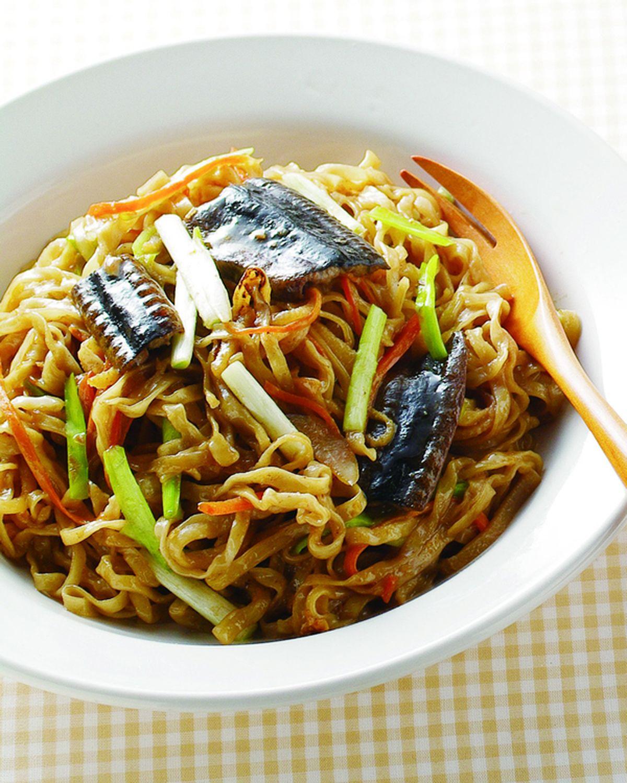 食譜:炒鱔魚意麵