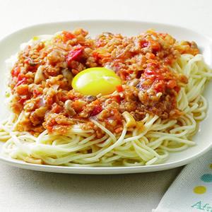 蘑菇茄汁鐵板麵(1)