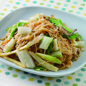 炒雞絲麵(1)
