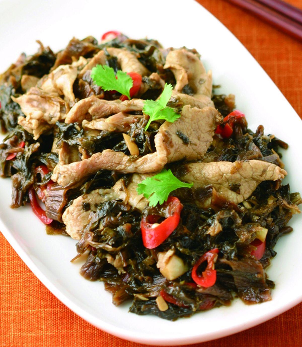 食譜:梅干燒肉(1)