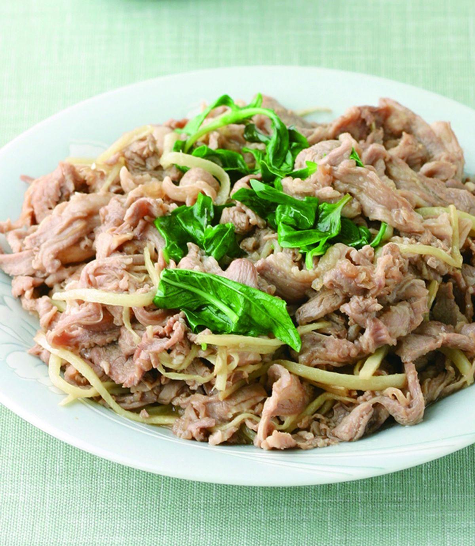 食譜:薑絲麻油羊肉片