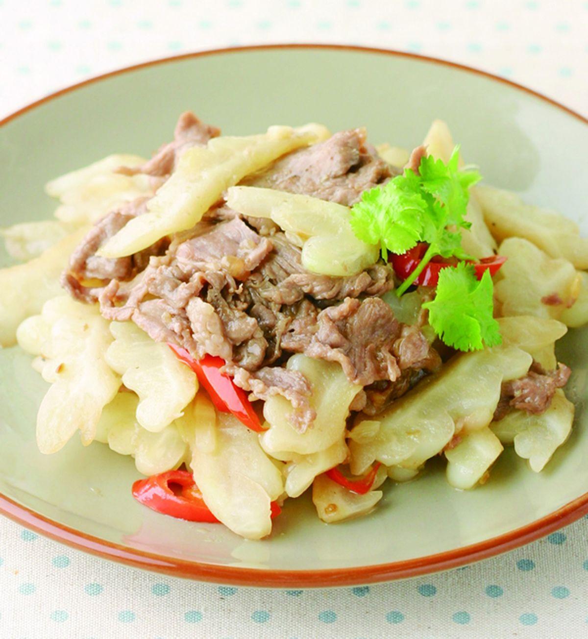 食譜:苦瓜羊肉片