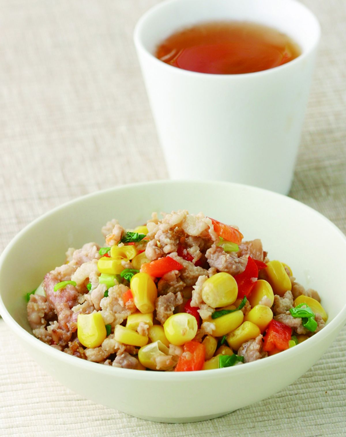 食譜:玉米炒肉末