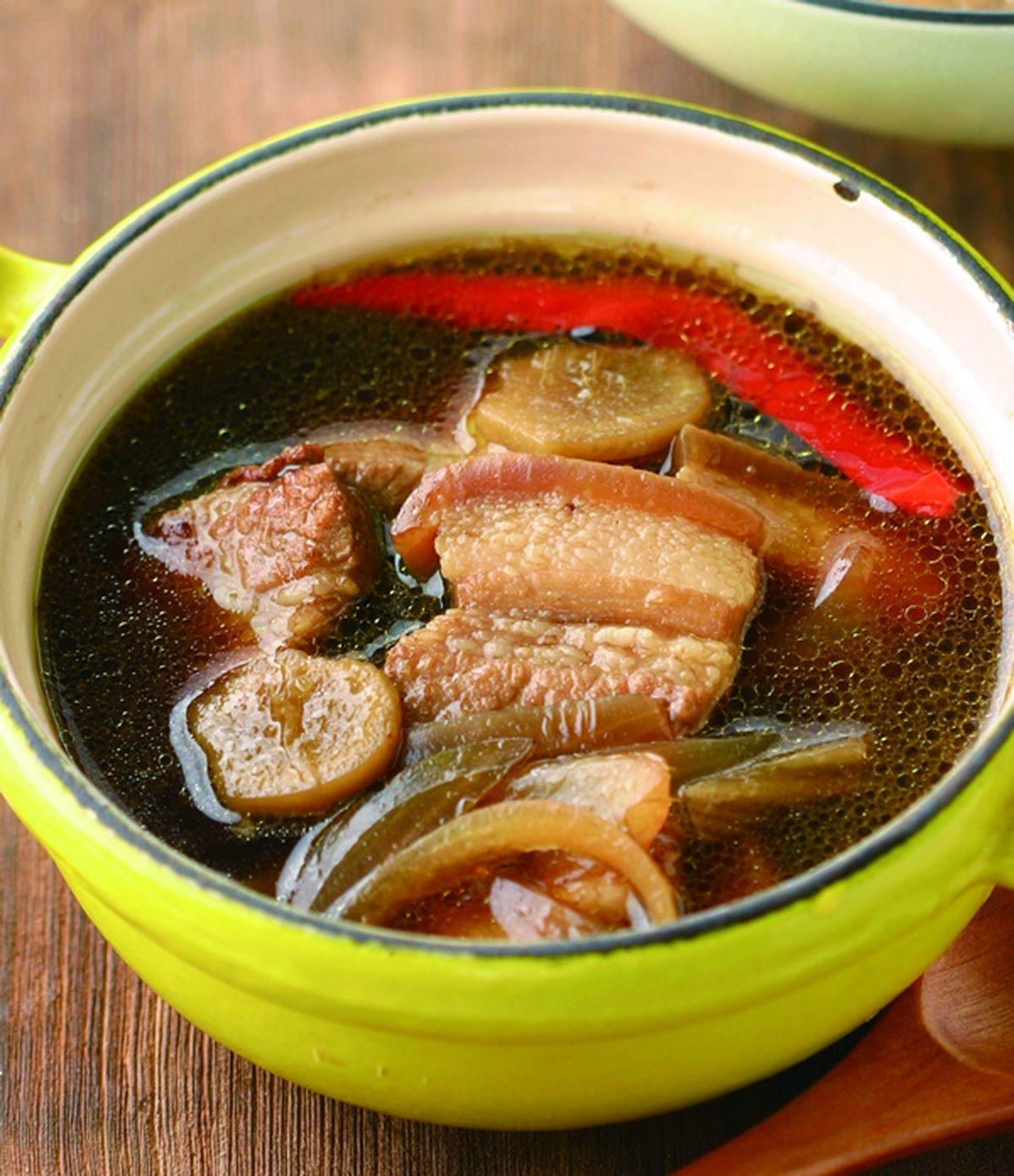食譜:滷三層肉醬汁