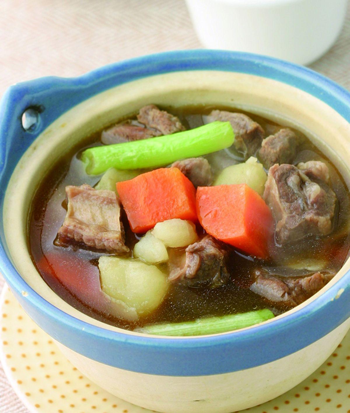 食譜:紅燒牛肉湯(3)