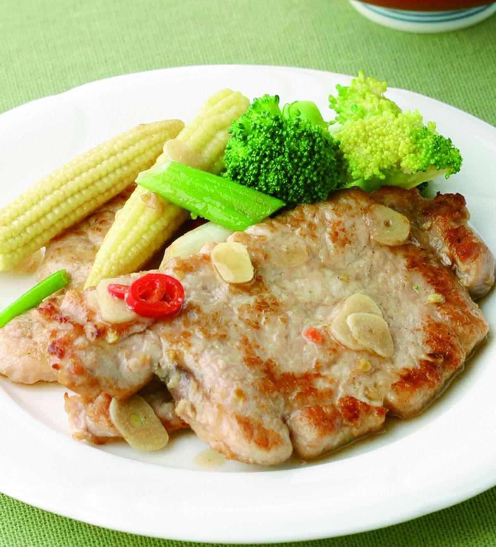 食譜:香煎豬排(1)
