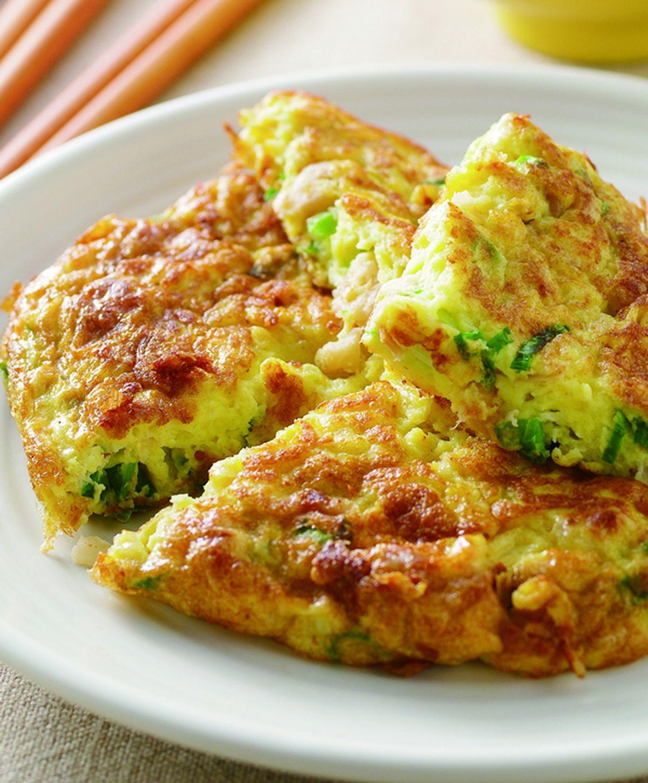 食譜:蔥花菜脯蛋(1)